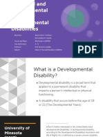 Biological and Environmental Causes of Developmental Disabilities PPT