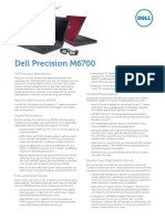Dell Precision M6700 Spec Sheet Tab
