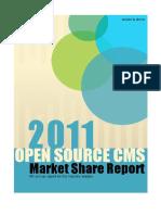 2011 Os Cms Market Share Report