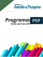 Programação_Mostra de Extensao e Pesquisa_2017