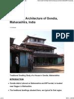Vernacular Arch Maharashtra