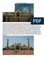 The History of Jama Masjid