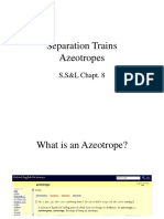 L7 Azeotropic Separations