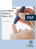 Carga Economica Diabetes en Mexico 2013