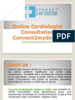 Online Cardiologist Consultation - Connect2mydoctor