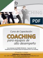 Coaching Para Equipos de Alto Desempeño