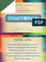 Initial Loss