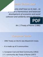 3. European Union Law