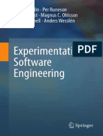 Experimental SoftwareEngineering