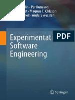 Experimental SoftwareEngineering