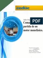 Control y fuerza motor monofasico