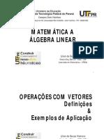 Aula7_Operacoes Com Vetores