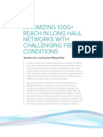 WP Maximizing Reach in LH Networks With Challenging Fiber Conditions