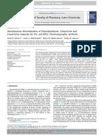 TLC and HPLC Chromatographic Methods