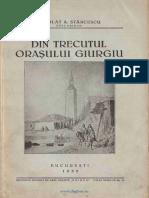 Stancescu, Scarlat - Din Trecutul Orasului Giurgiu [1935]