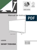 Toshiba 40L2500 Manual