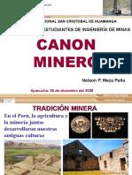 CANON MINERO.pps