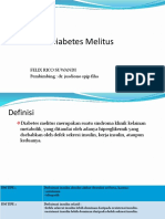 Diabetes Melitus Dr Jusdiono