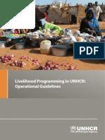 Liveihood Programming in UNHCR- Operational Guide