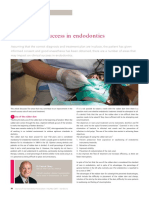 five steps for success in endodontics