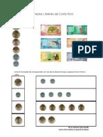 Monedas y Billetes de Costa Rica