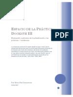 Espacio de La Práctica Docente III