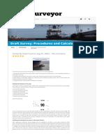 Draft Survey_ Procedures and Calculation _ Marine Surveyor Information