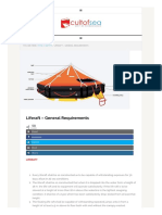 Liferaft – General Requirements