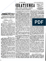Federatiunea, 18 Decembrie 1870