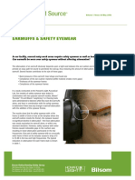 Earmuffs & Safety Eyewear