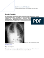 Pediatric Pneumonia