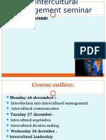 Seminar1 Interculural Management 1
