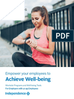 achieve well being employer tools brochure for 51 99 employers