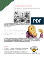 Filosofía, Epistemología y Gnoseología