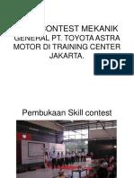 Skill Contest Mekanik General Pt