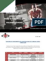 Proforma de Entrenamiento en Las Instalaciones Del Gimnasio Laredo Fitness Club