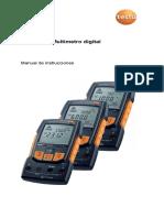 Testo-760 - Manual - Multimetro Digital.pdf