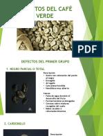 Defectos Del Café Verde
