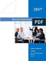 Chairman's Guide