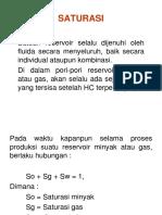 Saturasi di Reservoir Oil (Bu Yayuk)