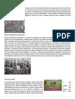 La Historia Del Atletismo