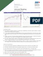 Market Technical Reading - Losing 1,350 Will Confirm A Bearish Breakdown… - 11/08/2010