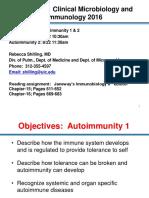 Autoimmunity Review