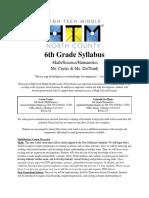 6th grade syllabus curtisduthinh