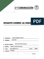 El presente ensayo se enfoca el concepto de imagen a partir del campo de estudio de la psicología