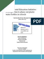 water bottle final report april 2014
