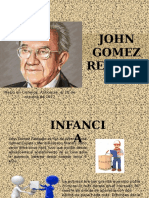 Empresario John Gomez Restrepo