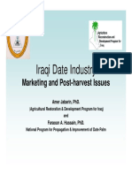 Iraqi Dates Industary