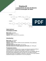Práctica 4 Anaranjado de metilo
