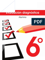 6° EVALUACION DIAGNOSTICA SANTILLANA